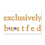 Exclusively BESTfed - Car Magnet 20 x 12