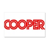 Cooper - Car Magnet 20 x 12
