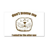 Otter Guy - Car Magnet 20 x 12