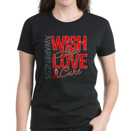Aplastic Anemia Wish Hope Women's Dark T-Shirt