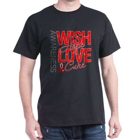 Aplastic Anemia Wish Hope Dark T-Shirt