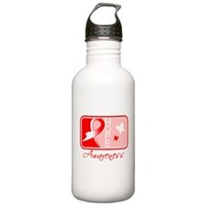 Aplastic Anemia Hope Tile Water Bottle