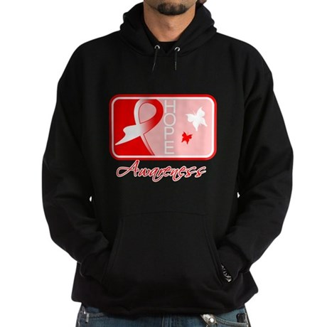 Aplastic Anemia Hope Tile Hoodie (dark)