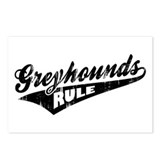 Greyhounds Rule Postcards (Package of 8)