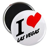 I (heart) Las Vegas Magnet