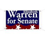 Elizabeth Warren for Senate Banner