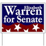 Elizabeth Warren for Senate Yard Sign