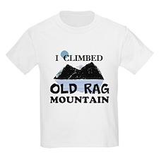 I Climbed Old Rag Mountain T-Shirt