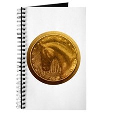 Gold Medal Horse Trophy Journal