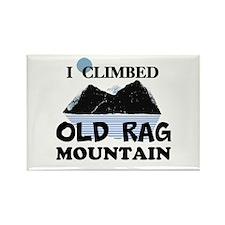I Climbed Old Rag Mountain Rectangle Magnet