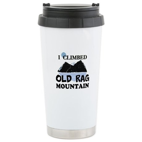 I Climbed Old Rag Mountain Ceramic Travel Mug