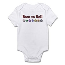Born to Roll Infant Creeper