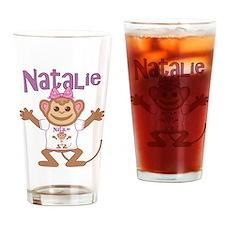 Little Monkey Natalie Drinking Glass