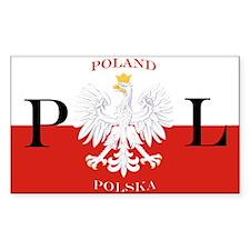 Poland/Polska Decal