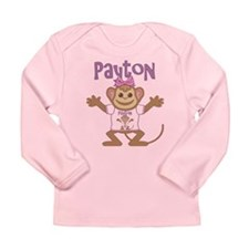 Little Monkey Payton Long Sleeve Infant T-Shirt