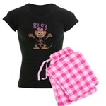 Little Monkey Riley Women's Dark Pajamas