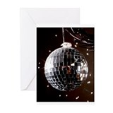 Disco Ball Greeting Cards (Pk of 10)