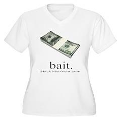 Bait Women's Plus Size V-Neck T-Shirt