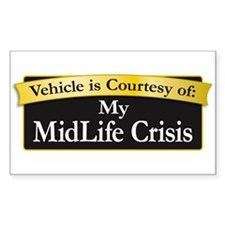 My MidLife Crisis Decal