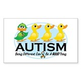 Autism Ugly Duckling Decal