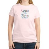 Dance/Pilates  Women's Pink T-Shirt
