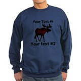 Customizeable Moose Sweatshirt