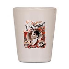Harry Houdini King of Cards Shot Glass