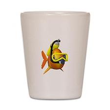 Scuba Fish Shot Glass