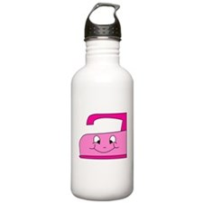 Hot Pink Iron Water Bottle