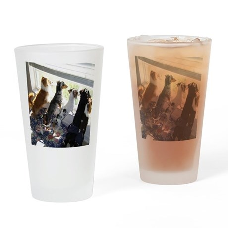 Mixed Hair Drinking Glass