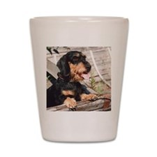 Wire Haired Afternoon Shot Glass