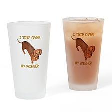 Trip Wiener Drinking Glass