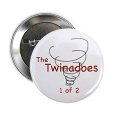 Twinadoes 1 of 2 Button