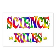 Science Rules Postcards (Package of 8)