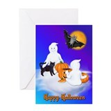 Halloween Friends Greeting Card