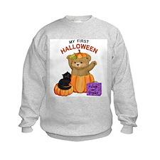 First Halloween Teddy Sweatshirt