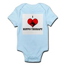 I Luv Hippo Therapy Infant Creeper