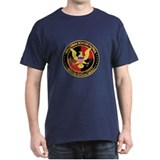 Hispanic Minuteman Border Pat Black T-Shirt