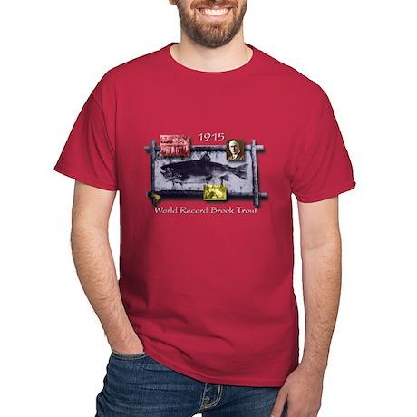 Dark World Record Brook Trout T-Shirt