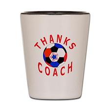 Soccer Coach Thank You Shot Glass