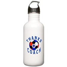 Soccer Coach Thank You Water Bottle