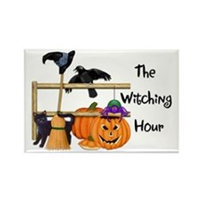 The Witching Hour Rectangle Magnet