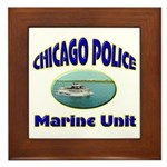 Chicago PD Marine Unit Framed Tile