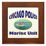 Chicago PD Marine Unit Framed Tile