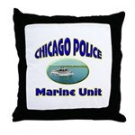 Chicago PD Marine Unit Throw Pillow