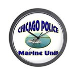 Chicago PD Marine Unit Wall Clock
