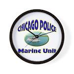 Chicago PD Marine Unit Wall Clock