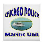 Chicago PD Marine Unit Tile Coaster