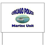 Chicago PD Marine Unit Yard Sign