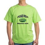 Chicago PD Marine Unit Green T-Shirt